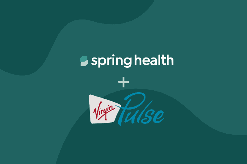 Spring Health partners with Virgin Pulse to offer Precision Mental Healthcare through industry-leading health and wellbeing engagement platform