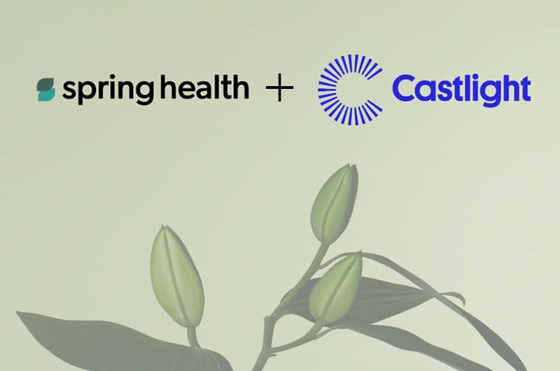 Spring Health partners with Castlight Health to offer Precision Mental Healthcare through industry-leading health and wellbeing platform
